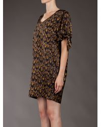 Paul by Paul Smith | Brown Printed Dress | Lyst