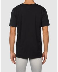 Givenchy | Black Short Sleeve T-shirt for Men | Lyst
