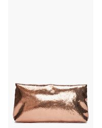 Marc By Marc Jacobs - Metallic Snake Clutch - Lyst