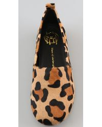 House of Harlow 1960 - Multicolor Kye Haircalf Flats - Lyst