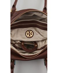 Tory Burch | Brown Tallis Moonlight Satchel | Lyst