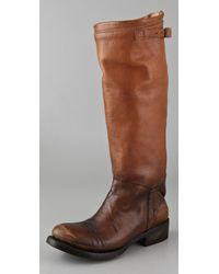 Ash   Brown Scott Equestrian Boots   Lyst