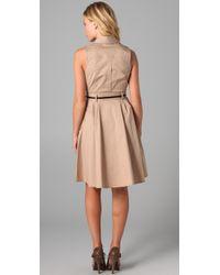 Club Monaco   Natural Tricia Dress   Lyst