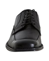 Kenneth Cole - Black Leather Midtown Oxfords for Men - Lyst