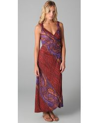 Marc By Marc Jacobs - Red Painted Page Paisley Dress - Lyst