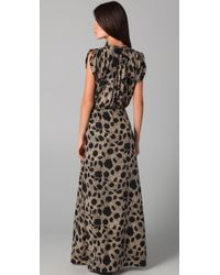 Parker | Multicolor Long Dress | Lyst
