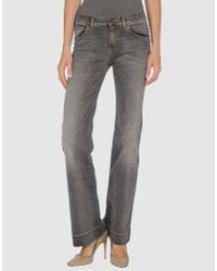 See By Chloé | Gray Jeans | Lyst