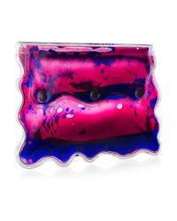 Christopher Kane | Pink Aqua Gel-filled Pvc Clutch | Lyst