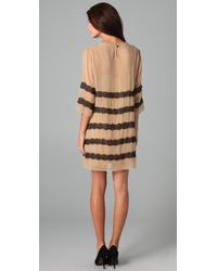By Malene Birger - Natural Chantelle Dress with Lace - Lyst