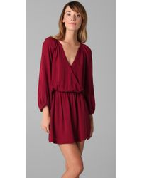 Joie - Red Molly Dress - Lyst