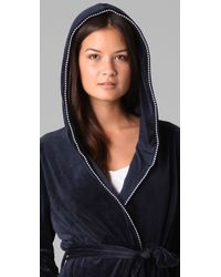 Juicy Couture | Blue Velour Robe | Lyst