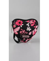 LeSportsac | Black Felicity Heart Coin Pouch | Lyst
