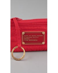 Marc By Marc Jacobs | Red Pretty Nylon Key Pouch | Lyst