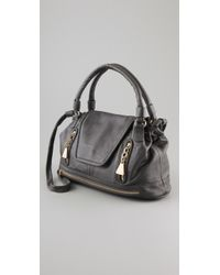 See By Chloé - Gray Cherry Medium Convertible Satchel - Lyst
