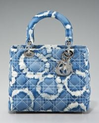Dior | Blue Tie Dye Lady Tote Medium | Lyst
