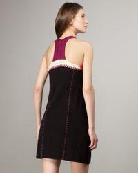 Nanette Lepore | Black Mad-cap Dress | Lyst