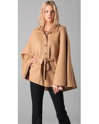 Rachel Zoe | Brown Ava Knit Cape | Lyst