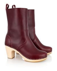 Swedish Hasbeens | Brown Classic Leather Boots | Lyst