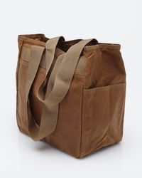 Filson - Brown Tin Cloth Tote Bag for Men - Lyst