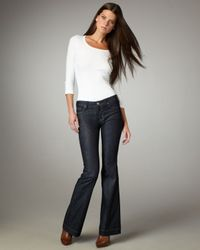 Hudson Jeans | Blue Marisa Broadway Mid-rise Flared Jeans | Lyst