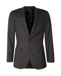J.Crew | Gray Ludlow Suit Jacket With Double Vent In Italian Wool for Men | Lyst