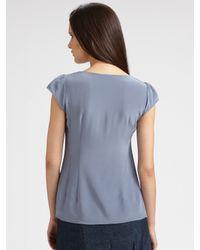 Nanette Lepore - Blue Seduce Me Skirt - Lyst