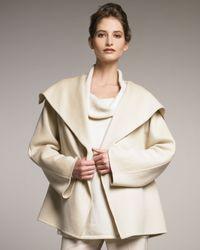 Shamask | Natural Shawl-collar Jacket | Lyst