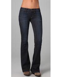 Textile Elizabeth and James - Blue Jimi Flare Jeans - Lyst