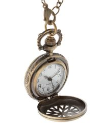 ASOS Collection - Metallic Asos Chunky Pocket Watch Neckchain for Men - Lyst