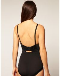 Flexees | Natural Easy Up Low Back Strapless Control Body Briefer | Lyst