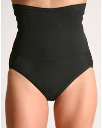 Flexees | Black Firm Control Waistshaper Brief | Lyst