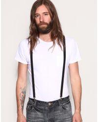 ASOS Collection | Black Asos Braces for Men | Lyst