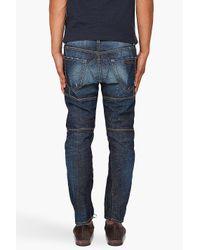 DSquared² - Blue Biker Jeans for Men - Lyst