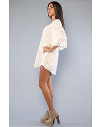 Free People - Natural The Camilles Charm Tunic - Lyst