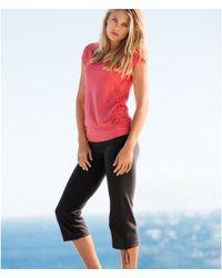 H&M | Black Sports Trousers | Lyst