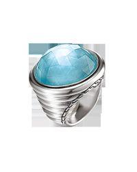 John Hardy - Blue Bedeg Batu Silver - Lyst