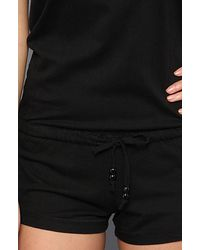 Obey | Black Stormy Romper | Lyst