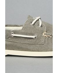 Sperry Top-Sider | Green Classic Boat Shoe for Men | Lyst