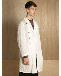 Dries Van Noten   White Mens Royani Coat for Men   Lyst