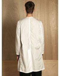 Dries Van Noten | White Mens Royani Coat for Men | Lyst