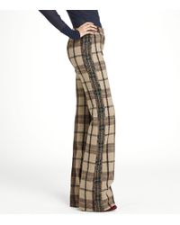 Tory Burch - Brown Andres Pant - Lyst