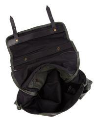 Jas MB - Black Green Riley Leather Satchel Bag - Lyst