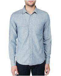 Rag & Bone | Blue Trail Shirt for Men | Lyst