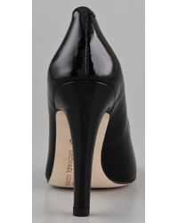 Kors by Michael Kors | Black Patent Leather Pumps | Lyst