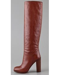 Marc By Marc Jacobs - Red High Heel Tall Boots - Lyst