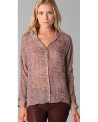 Rory Beca - Natural Sirius Dolman Blouse - Lyst