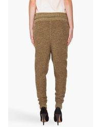 3.1 Phillip Lim | Green Marled Sweatpants | Lyst