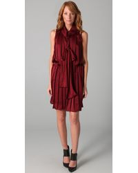 By Malene Birger | Red Emu Pleated Dress | Lyst