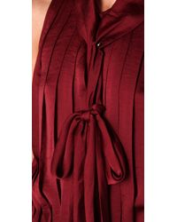 By Malene Birger | Red Emu Pleated Dress | Lyst