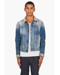 DIESEL | Blue Juzicon Jacket for Men | Lyst